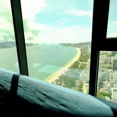 Апартаменты Sunrise Ocean View Apartment Нячанг с домашними животными