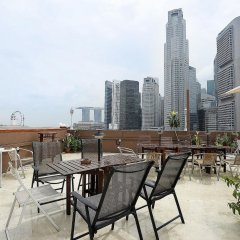 Отель ZEN Rooms Clarke Quay балкон