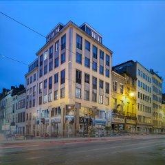 Отель Agenda Louise Брюссель вид на фасад
