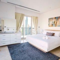 Отель Stunning 4 BDR Penthouse in Dubai Marina комната для гостей фото 5