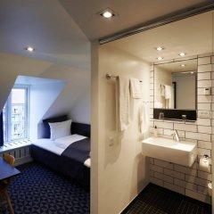 Отель Ritz Aarhus City Дания, Орхус - отзывы, цены и фото номеров - забронировать отель Ritz Aarhus City онлайн ванная