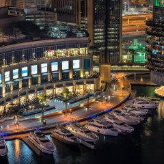 Отель Arjaan by Rotana Dubai Media City гостиничный бар