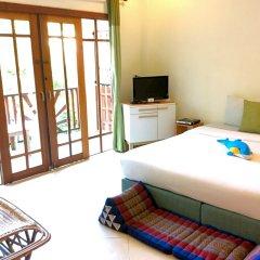 Отель Sun Smile Lodge Koh Tao Таиланд, Остров Тау - отзывы, цены и фото номеров - забронировать отель Sun Smile Lodge Koh Tao онлайн комната для гостей фото 3