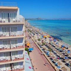 Hotel JS Can Picafort пляж