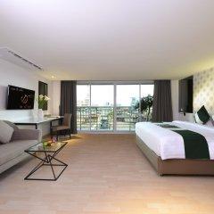 Отель Le D'Tel Hotel & Conference Таиланд, Бангкок - отзывы, цены и фото номеров - забронировать отель Le D'Tel Hotel & Conference онлайн комната для гостей фото 5
