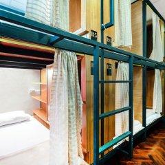 Отель OYO 612 Hansa Hostel Таиланд, Бангкок - отзывы, цены и фото номеров - забронировать отель OYO 612 Hansa Hostel онлайн комната для гостей фото 2