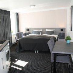 Отель Aarhus City Apartments Дания, Орхус - отзывы, цены и фото номеров - забронировать отель Aarhus City Apartments онлайн комната для гостей фото 3