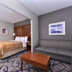 Отель Comfort Inn & Suites Frisco - Plano комната для гостей фото 2