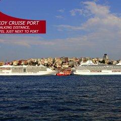 Port Hotel Tophane-i Amire Турция, Стамбул - отзывы, цены и фото номеров - забронировать отель Port Hotel Tophane-i Amire онлайн пляж фото 2