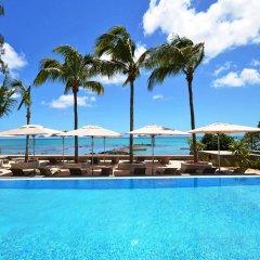 Отель Mon Choisy Beach Resort бассейн