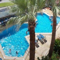 Palmiye Hotel Турция, Сиде - 3 отзыва об отеле, цены и фото номеров - забронировать отель Palmiye Hotel онлайн бассейн фото 3