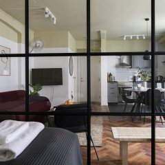 Апартаменты Boutique Apartments by Kgs Nytorv Копенгаген в номере
