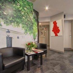 Отель Timhotel Montmartre Париж интерьер отеля