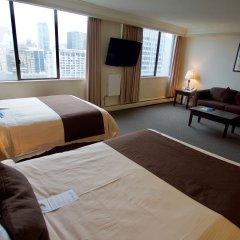 Отель Century Plaza Hotel & Spa Канада, Ванкувер - отзывы, цены и фото номеров - забронировать отель Century Plaza Hotel & Spa онлайн комната для гостей фото 2