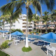 Отель El Pescador Hotel Мексика, Пуэрто-Вальярта - отзывы, цены и фото номеров - забронировать отель El Pescador Hotel онлайн бассейн фото 2