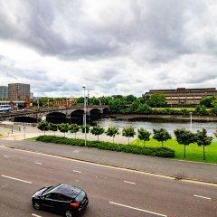 Отель Glasgow City Flats парковка