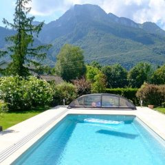 Отель Haus am Moos Австрия, Зальцбург - отзывы, цены и фото номеров - забронировать отель Haus am Moos онлайн бассейн фото 2