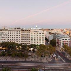 Отель Marquês de Pombal Лиссабон городской автобус
