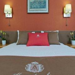 Гостиница Александровский комната для гостей фото 4