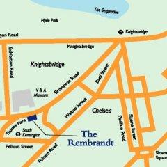 Отель The Rembrandt Великобритания, Лондон - отзывы, цены и фото номеров - забронировать отель The Rembrandt онлайн городской автобус