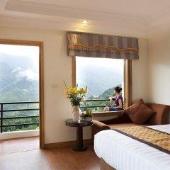Отель Sapa Eden View Hotel Вьетнам, Шапа - отзывы, цены и фото номеров - забронировать отель Sapa Eden View Hotel онлайн комната для гостей фото 3