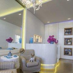 Отель Oasis Beach Hotel Греция, Агистри - отзывы, цены и фото номеров - забронировать отель Oasis Beach Hotel онлайн интерьер отеля