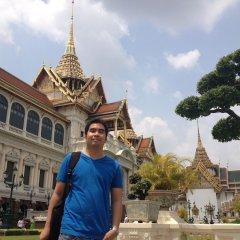 Nivas Siam Hostel Бангкок приотельная территория