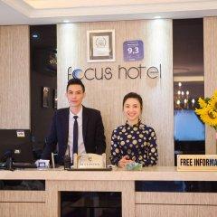Отель Hanoi Focus Hotel Вьетнам, Ханой - отзывы, цены и фото номеров - забронировать отель Hanoi Focus Hotel онлайн интерьер отеля фото 3