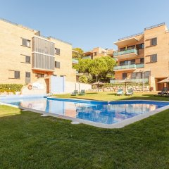 Отель Pierre & Vacances Residence Salou Испания, Салоу - отзывы, цены и фото номеров - забронировать отель Pierre & Vacances Residence Salou онлайн бассейн
