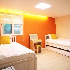 Отель Albergue Guesthouse Korea комната для гостей