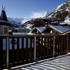 Отель Garni Testa Grigia Швейцария, Церматт - отзывы, цены и фото номеров - забронировать отель Garni Testa Grigia онлайн балкон