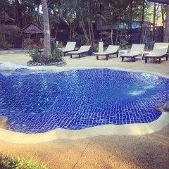 Отель Papillon Bungalows Ланта бассейн