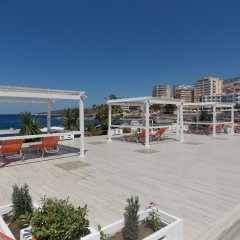 Отель Sunset Suites Албания, Саранда - отзывы, цены и фото номеров - забронировать отель Sunset Suites онлайн бассейн
