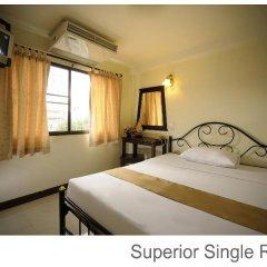 Отель Rambuttri Village Inn & Plaza 3* Стандартный номер с различными типами кроватей фото 12