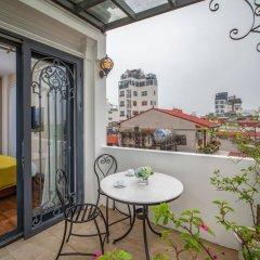 Отель Hanoian Lakeside Hotel Вьетнам, Ханой - отзывы, цены и фото номеров - забронировать отель Hanoian Lakeside Hotel онлайн балкон