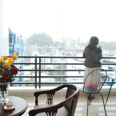 Dalat Ecogreen Hotel Далат балкон