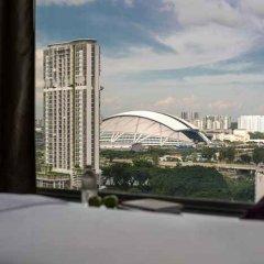 Отель V Lavender Сингапур балкон