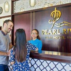 Pearl River Hoi An Hotel & Spa интерьер отеля