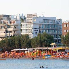 Tropical Hotel Афины пляж фото 2