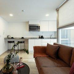 Апартаменты Delightful Studio in Hipodromo Мехико комната для гостей фото 2