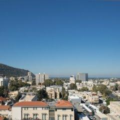 Golden Crown Haifa Израиль, Хайфа - 1 отзыв об отеле, цены и фото номеров - забронировать отель Golden Crown Haifa онлайн балкон