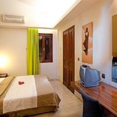 Отель Pefkos Beach комната для гостей фото 2