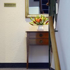 Hotel-Pension Marthahaus сейф в номере
