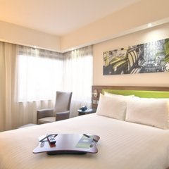 Гостиница Hampton by Hilton Moscow Strogino (Хэмптон бай Хилтон) комната для гостей фото 4