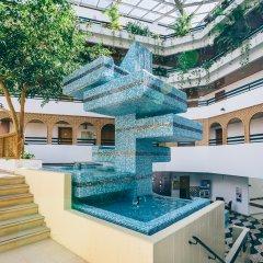Отель Muthu Oura Praia Hotel Португалия, Албуфейра - 1 отзыв об отеле, цены и фото номеров - забронировать отель Muthu Oura Praia Hotel онлайн бассейн фото 2