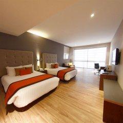 Отель El Diplomatico Hotel Мексика, Мехико - отзывы, цены и фото номеров - забронировать отель El Diplomatico Hotel онлайн комната для гостей фото 4