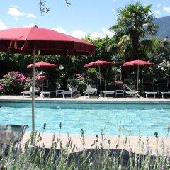 Отель Gartenresidence Zea Curtis Италия, Меран - отзывы, цены и фото номеров - забронировать отель Gartenresidence Zea Curtis онлайн бассейн