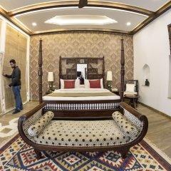 Отель WelcomHeritage Haveli Dharampura сауна