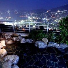 Отель Enjoy The Night View Of Nagasaki And Shippoku Cuisine | Nissho Cans New Wing Baishokaku Нагасаки бассейн фото 2