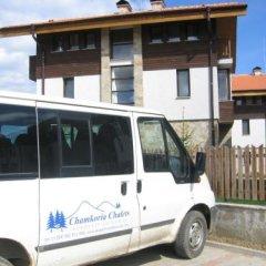 Отель Chamkoria Chalets Боровец городской автобус
